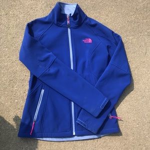 The North Face Women's Royal Blue Apex Jacket